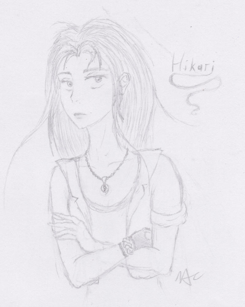 Hikari the jaded by MentalyDraw