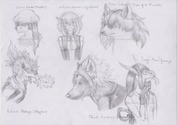 My Pokemon Academia project - Sketch by MentalyDraw