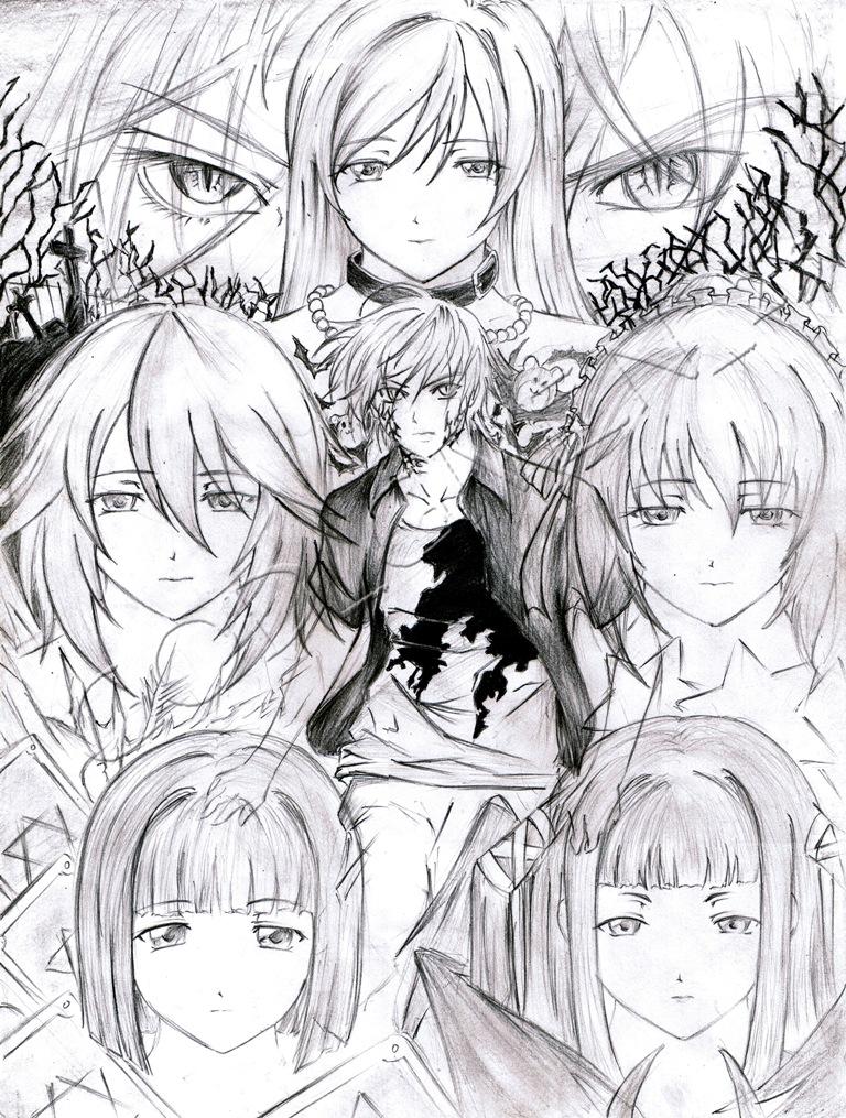 rosario vampire manga