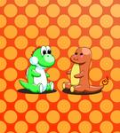 Yoshi and Charmander