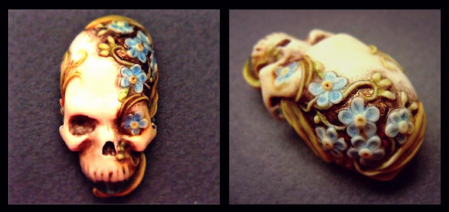 Skull pendant by Zergi