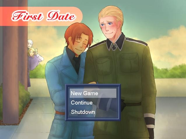 First Date [Hetalia GerIta Game]