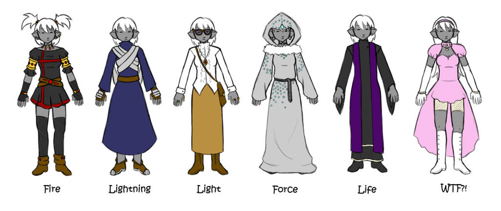 Force Character Design From Life Drawing Ebook : Drow mage concepts by flykyrskysong on deviantart