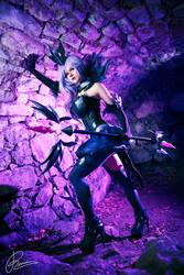 Elementalist Lux Dark - League of Legends by KaddiCosplay