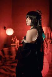 Higanbana - Onmyoji 3 by KaddiCosplay