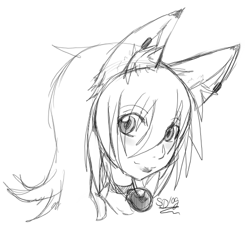 Hikari Head - Sketch by S-Dash