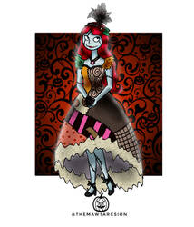 100 Disney Girl Challenge 12 Sally by ThemawtArcsion