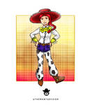 100 Disney+ Girl Challenge 71 Jessie by ThemawtArcsion