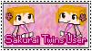 Sakurai Twins User - Stamp by yujilono