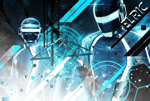 Tron Legacy Daft Punk by The-Hench-Men