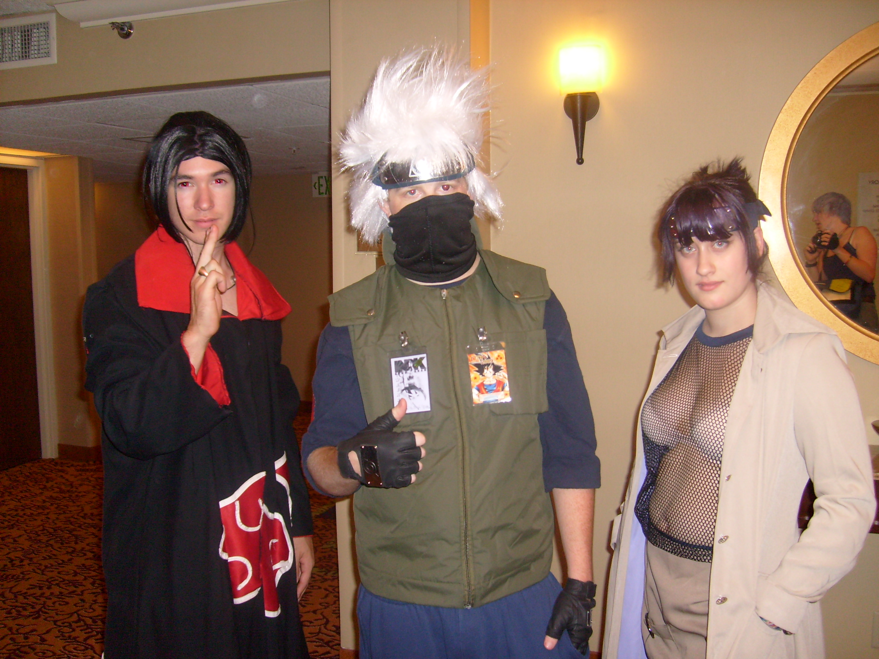 Not anorexic, Naruto cosplay sex the