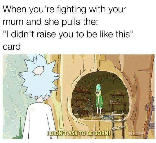 rick and morty memes