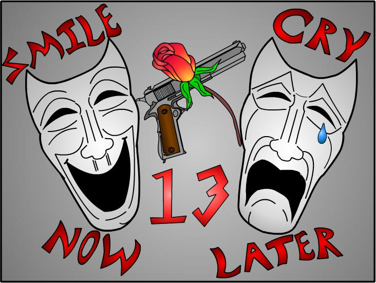 Smile Now Cry Later Masks Smile now cry later with masks