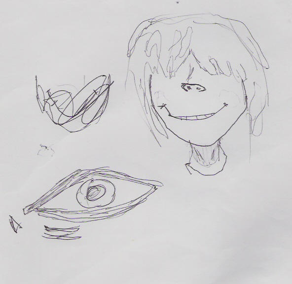 noodle face and eye sketch by dmarteng on deviantart