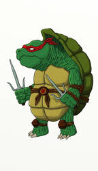 Elderly Raphael by ajdelong