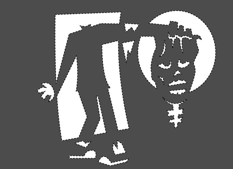 Printable zombie stencils cake ideas and designs
