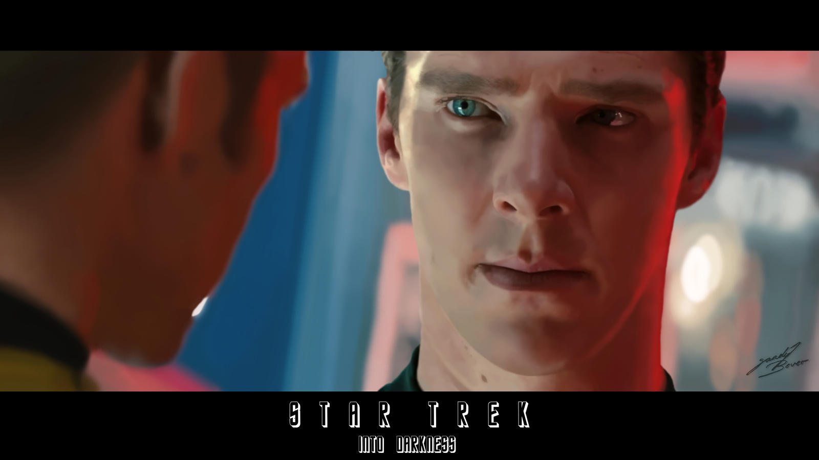 Star Trek Into Darkness - Khan by SandyBever on DeviantArt