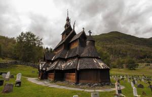 Borgund Stave Church, Norway by skorp711