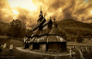 Borgund Stave Church, Experimental by skorp711