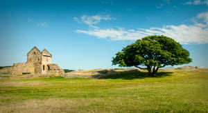 Hammershus Castle Bornholm by skorp711