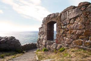 Hammershus Castle Sea View by skorp711