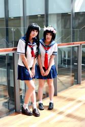 Railgun - Kazari and Ruiko