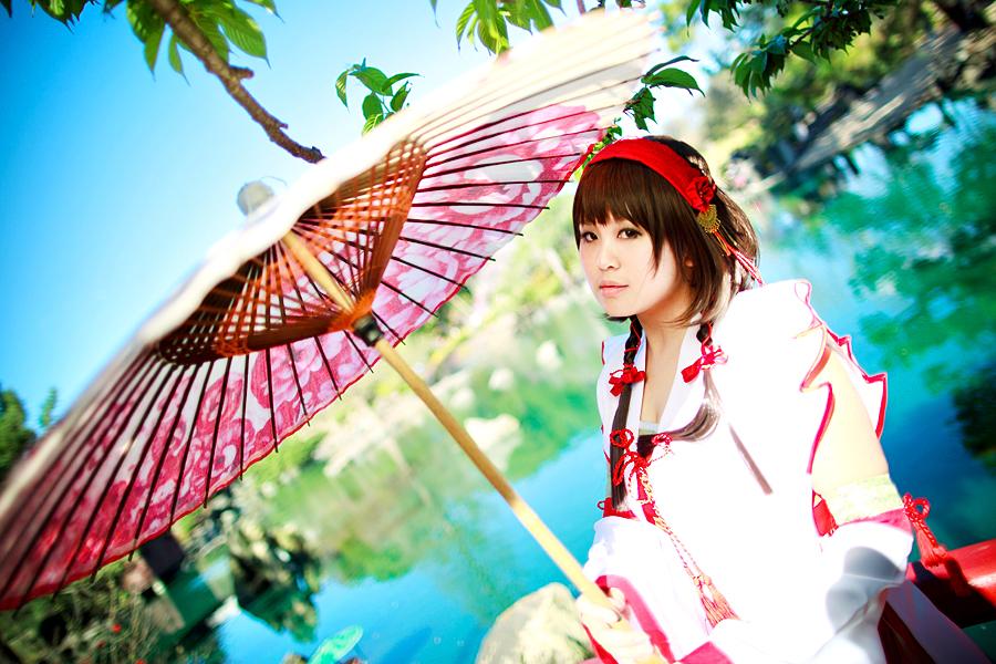 Sengoku Musou 3 - Okuni by kumakuku