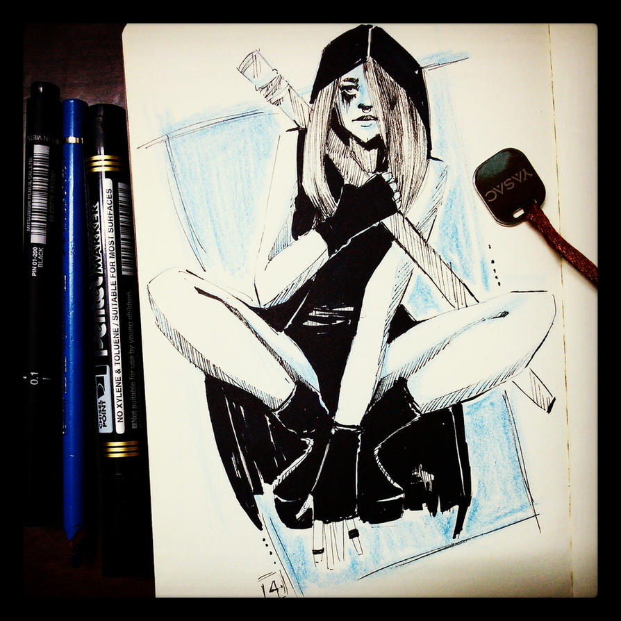 ninja girl by zephyr990