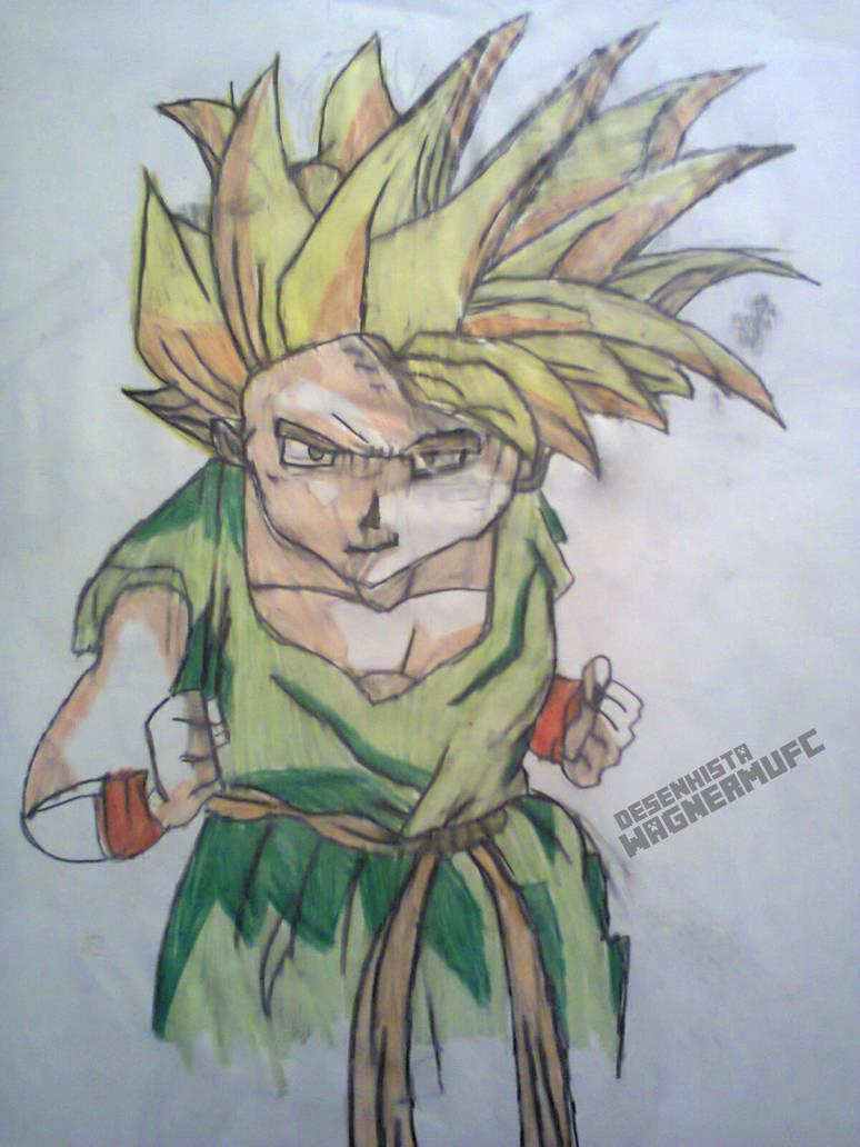 Dragon Ball Z Desenho By Wagnermufc On Deviantart