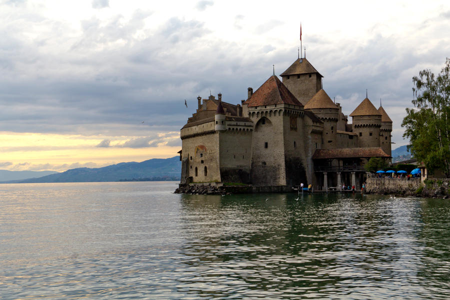 Chateau de Chillon by zemrude