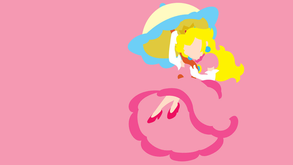 princess peach wallpaper by heavz01 on deviantart