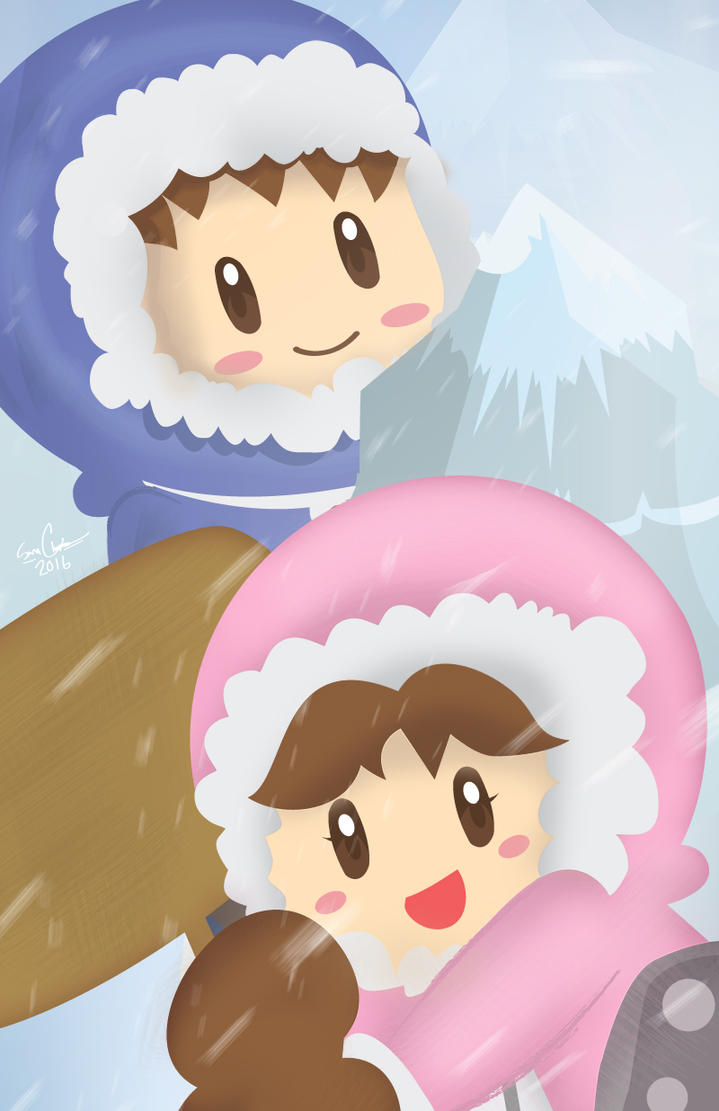 Ice Climbers by the-lagz