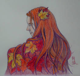 Autumn Lady by KurutteiruKenroh