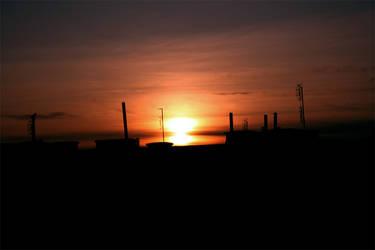 sunset by Tylek