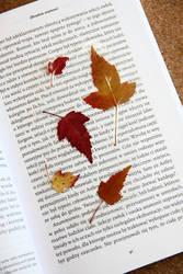 leaf bookmark by Tylek