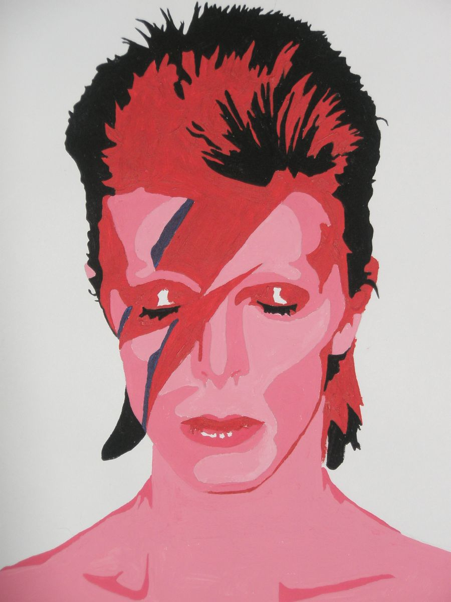Aladdin Sane by r0cKin-LadY