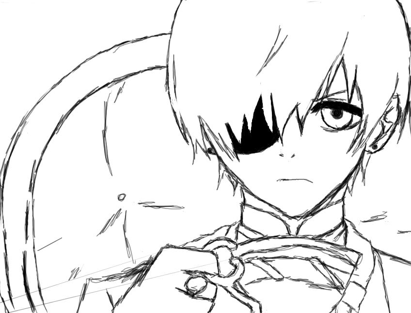 how to draw ciel phantomhive