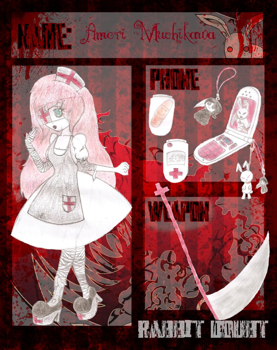 RD app - Ameri Muchikawa by YugureMuffin