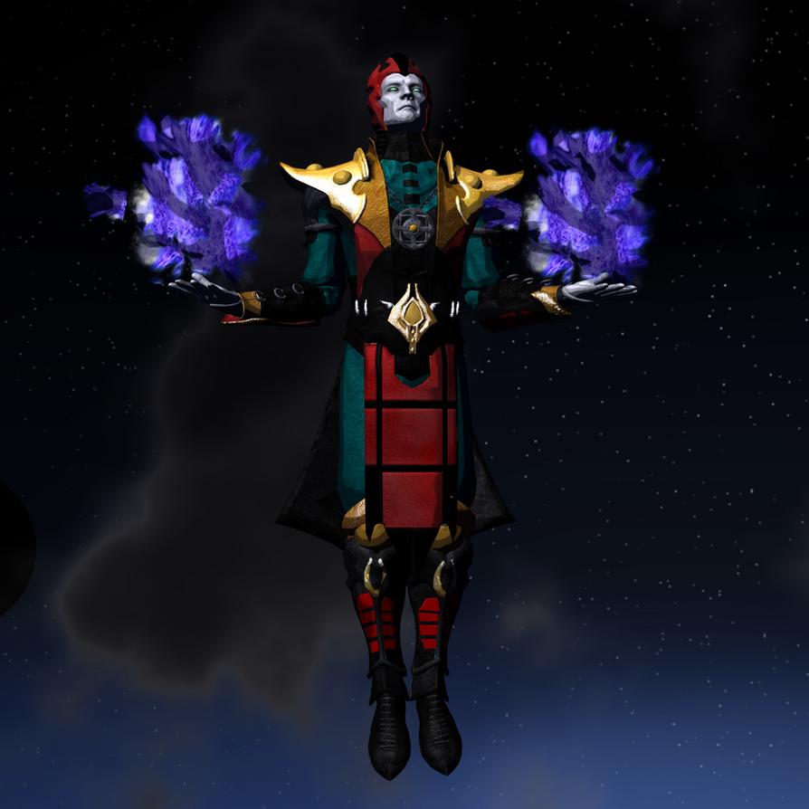 Dark God by thedarksaiyan