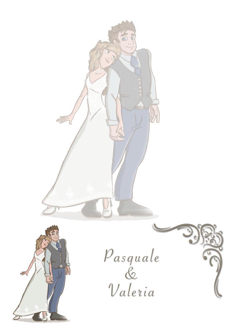 PasqualeValeria Wedding  by Dnaland