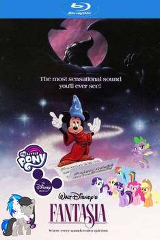 The Disney Chronicles: Fantasia Blu Ray Cover