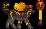 AKitD God of Fire Design by pandemoniumfire