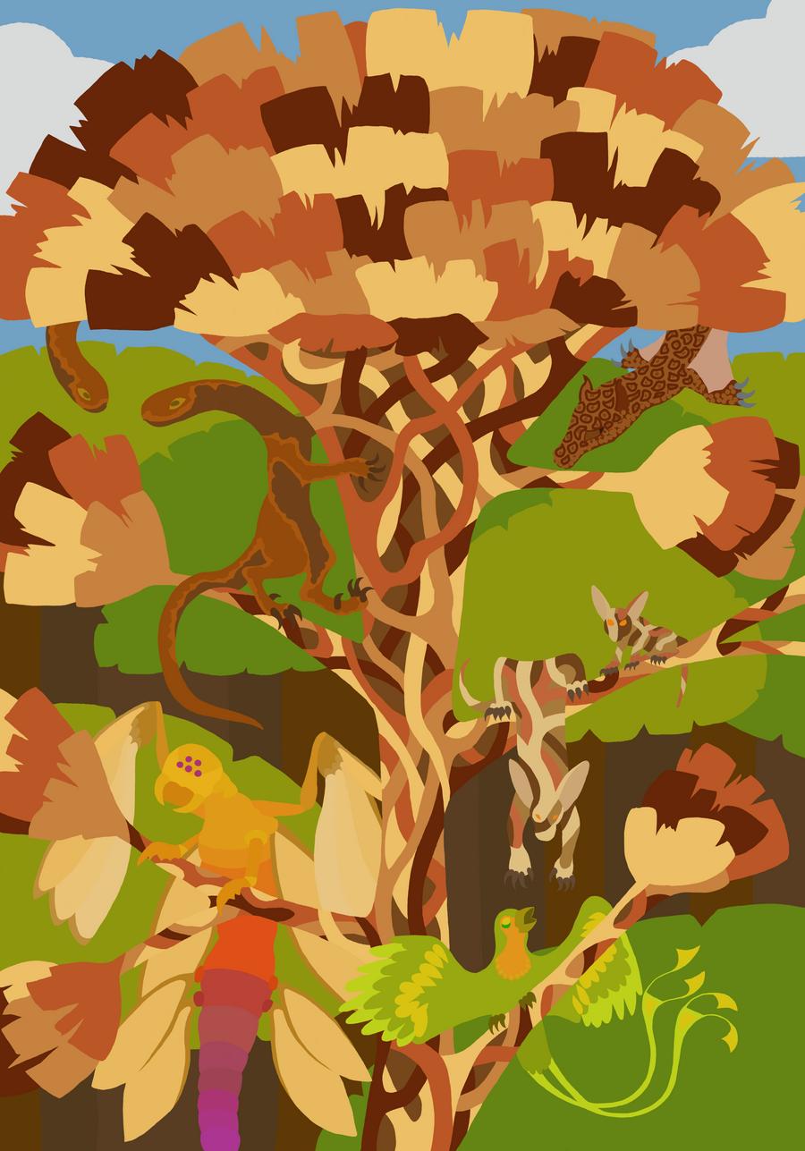 Fictional Biomes: Rainforest