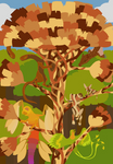 Fictional Biomes: Rainforest by pandemoniumfire