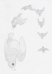 Birds: Free Fall by pandemoniumfire