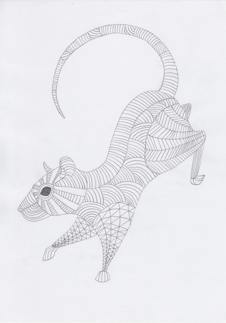 Totem: Rat by pandemoniumfire