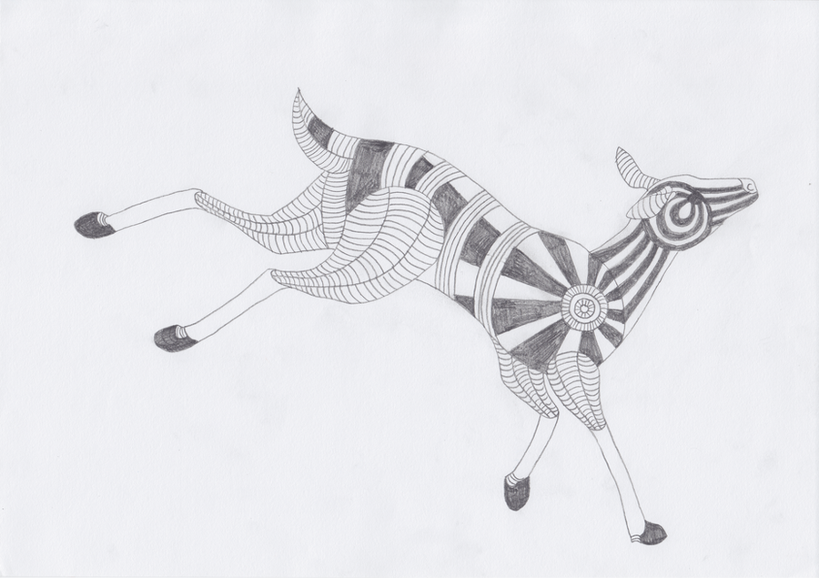 Totem: Deer by pandemoniumfire