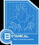 Botanical Species Folder Info