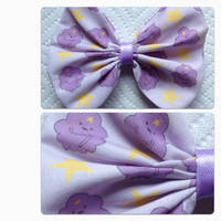 Adventure time lumpy space princess bow by messypink
