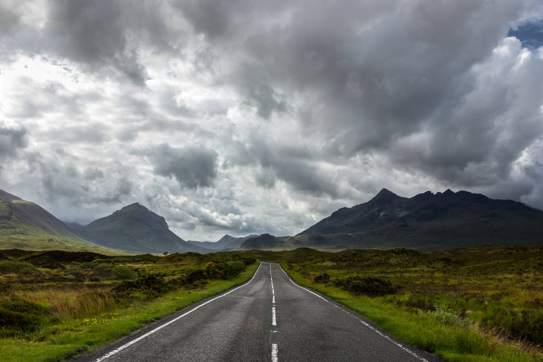 The Road To The Cuillin by EyeOfTheKat